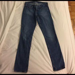 J. Crew Vintage matchstick jeans size 26R